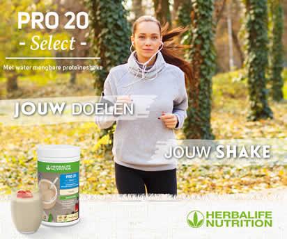 Pro 20 select proteineshake